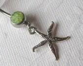 Body Jewelry, Belly Button Jewelry, Starfish Belly Jewelry, Starfish Belly Ring, Belly Button Ring