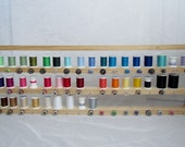 SALE - 10 PERCENT OFF with Coupon Code - Thread and Bobbin Holder with Hangers and Felt