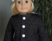 Hooded Jacket and Cap for AG Doll or any 18 inch doll
