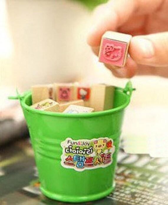 mini bucket of stamps set