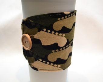 Guitar Reusable Coffee Cozy