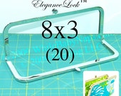 28% OFF 20 nickel-free 8x3 purse frame with EleganceLock(TM) closure