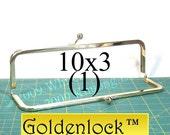 10x3 Goldenlock(TM) metal purse frame