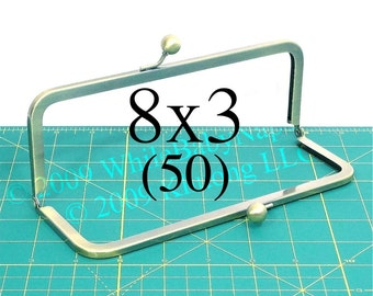34% OFF 50 Antique Brass 8x3 purse frame