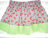 Girls Watermelon Skirt