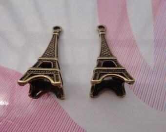 5pcs antique bronze tower/Eiffel Tower findings 32x12mmx12mm