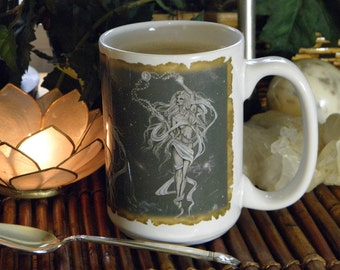 Moon Goddess 15 oz coffee mug