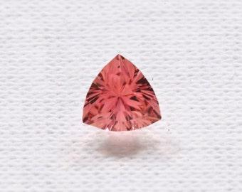 Tourmaline Pink 6.0mm Trillion .64 carat Grade AA