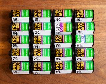20x Empty FUJI 35mm Film Canisters