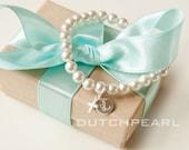 Personalized religious kids jewelry bracelet with cross  - stretch bracelet - baby girl pearl bracelet - baby jewelry