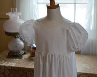 Regency Dress Sizes 7-10