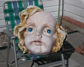 MAN CAVE  Baby  Angle Face in fiberglass photo stop for sure