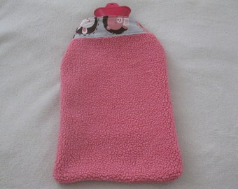 Hot Bottle Cover-Soft Pink or Dusty Rose