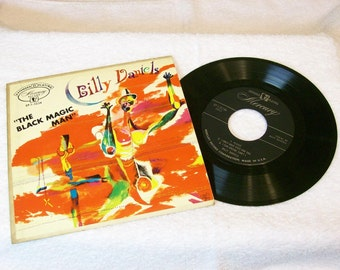1950s Billy Danials / The Black Magic Man / 7 Inch 45rpm / Mercury Records