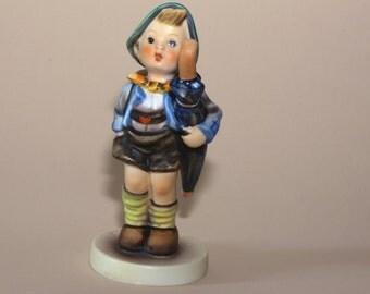 "Hummel Figurine - Home From Market - 198 -  TMK4 - 5-1/2"""