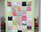 Deposit for a Custom Memory Quilt (t shirts, baby clothes, memorial)