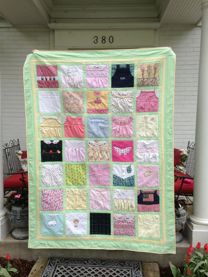 Deposit for a Custom Memory Quilt t shirts baby clothes