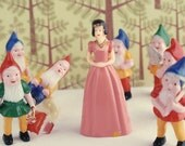 Snow White Cake toppers - Snow White Cupcake toppers - Fairy Tale Cupcake