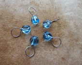 Sea Blues Stitch Markers