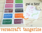 Large Versacraft Ink Pad Tangerine