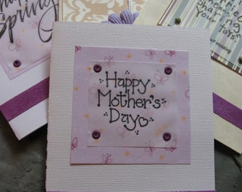 mothers day card with happy spring wedding and birthday cards