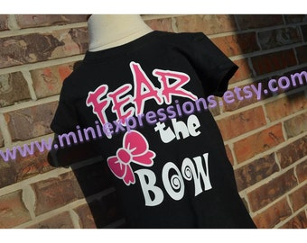 Fear the Bow Cheer Shirt