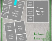 SALE 10 X 10 in poster / Blog/ Storyboard / Collage PSD templates