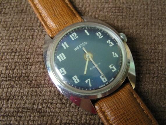 RESERVED Soviet/Russian VINTAGE Wristwatch Vostok - Free shipping
