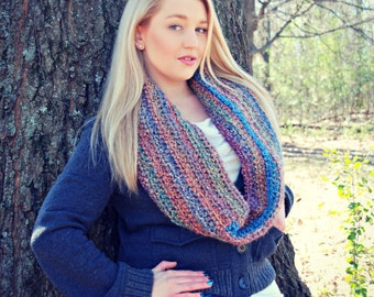 Warm and Fuzzy Cowl Crochet Pattern