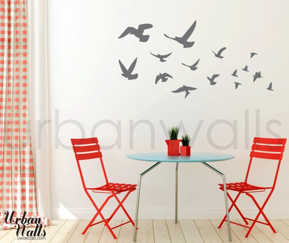 Vinyl Wall Sticker Decal Art - Fly Away
