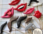 Photo Booth Props - The Ultimate Mix - Set of 12