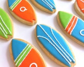 RESERVED FOR ANNAMARIALEE only please  Surf's Up Surfboard Cookies (1 dozen)