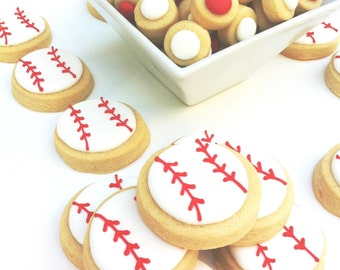 Home Run Baseball Party Pack (Confetti and Baseball Cookies)