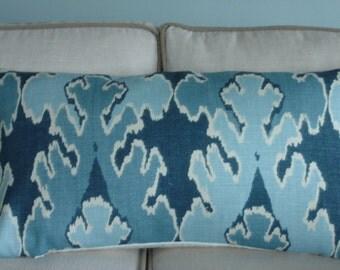 Kelly Wearstler BENGAL BAZAAR Teal Pillow Cover