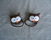 Owl Ponytail Holders