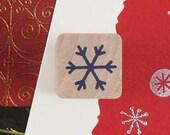 Snow Flower Stamp (0.75 x 0.75in)
