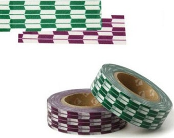 2 Set - Arrow Feather Shape Adhesive Masking Tapes (0.6in)