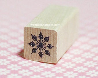 Snowflake Stamp - Ver. 2 (0.75 x 0.75in)
