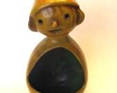 Vintage Pinocchio Planter / Lantern