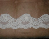 Vintage Alencon Lace Border Trim
