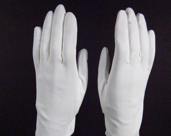 allsz-Vintage Pure White dress/prom/church gloves-8 inches long(68g)