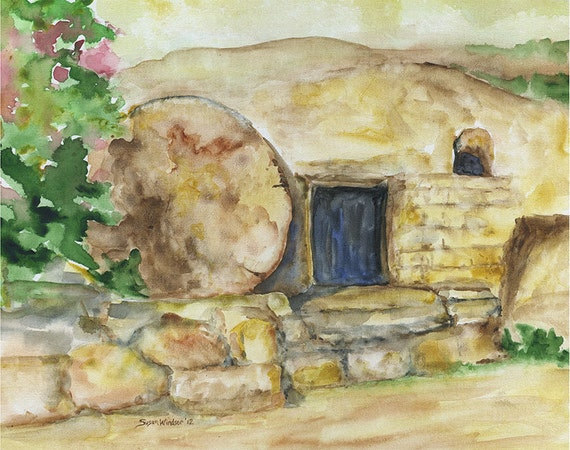 christian easter empty tomb - photo #10