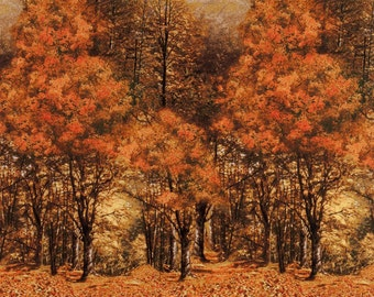 Autumn Forest - Timeless Treasures - Half Yard Plus