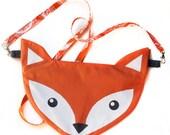 FOXY fox HIP woodland clutch designer fabric pouch zipper wallet hipster bag