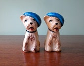 Vintage Little Rascal Terrier Dog Salt and Pepper Shakers