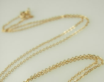 Chain Length Addition - 14k gold fill - Sterling Silver - Rose Gold fill