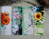 Flora Film Photography Bookmarks Set of 4