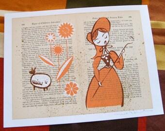 Little Bo Peep LitKids Print