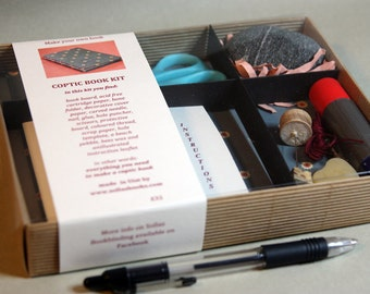 Bookbinding Kit - Coptic Book