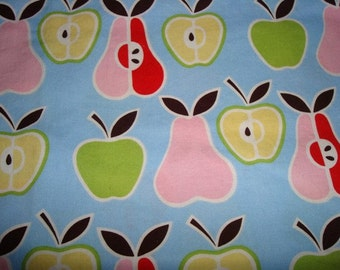 Apples and Pears Fabric by Alexander Henry - 19 inches